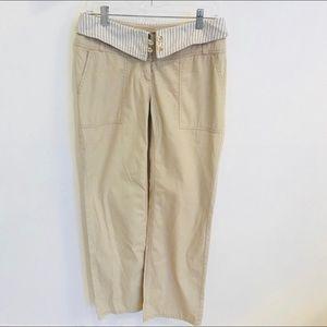 Michael Kors Size 6 Women Tan Trouser Pants